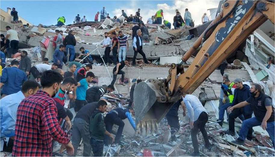 A powerful 7.0-magnitude earthquake hit Friday parts of ...